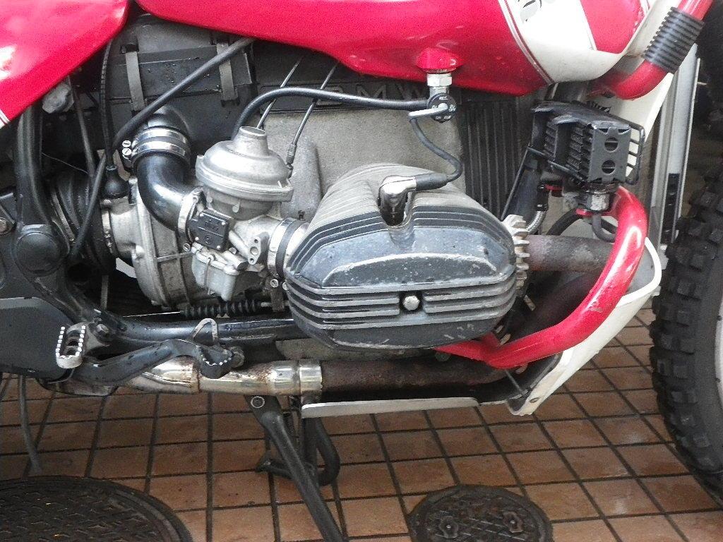 BMW R100GS パリダカ パニアケース付き ツーオーナー 東京発!_画像4