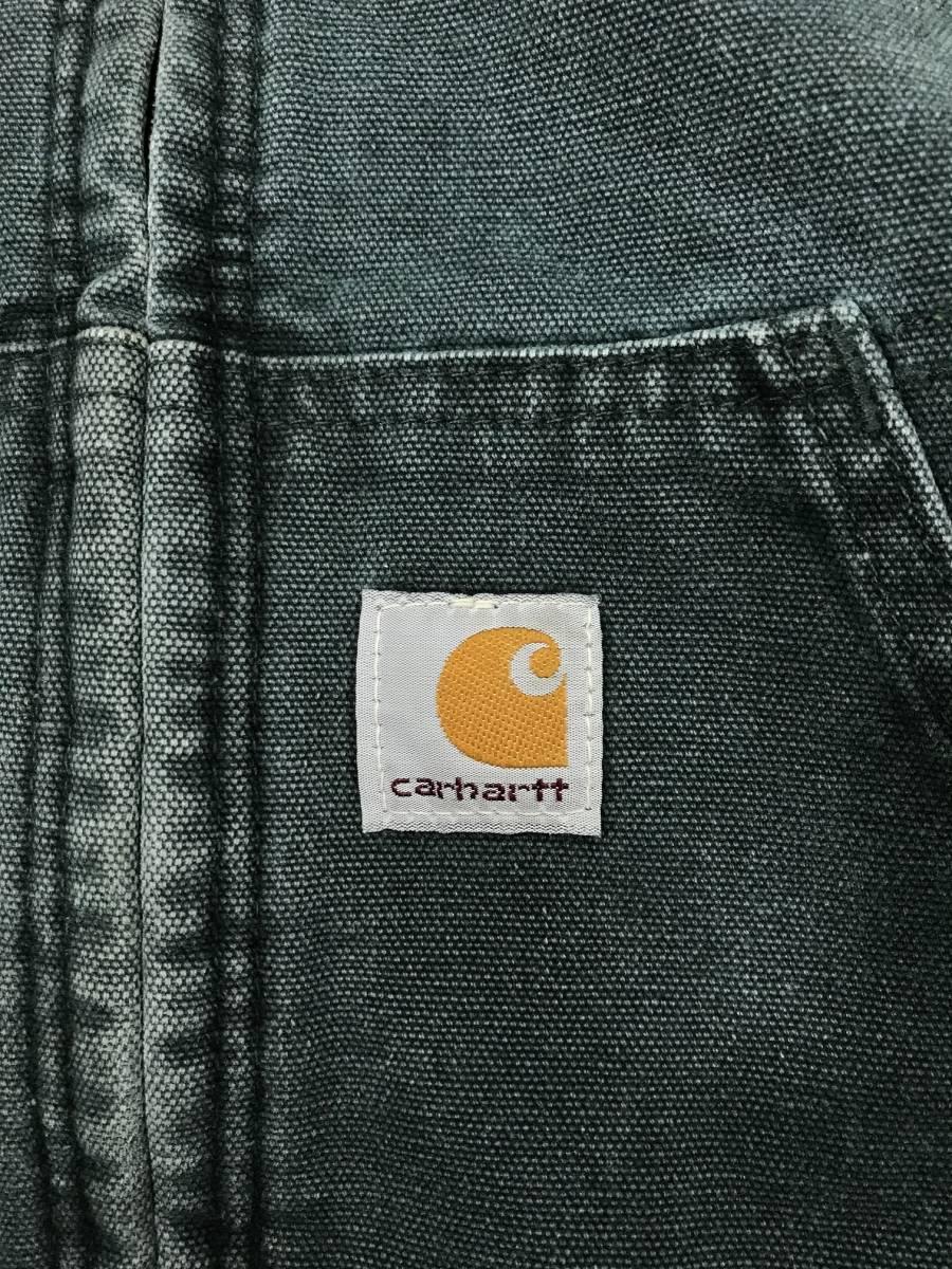 古着 15224 カーハート carhartt boy's SMALL ヘビー コットン ジャケット ワーク ダック USA オリジナル ビンテージ vintage_画像3