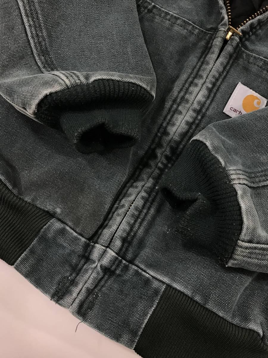 古着 15224 カーハート carhartt boy's SMALL ヘビー コットン ジャケット ワーク ダック USA オリジナル ビンテージ vintage_画像6