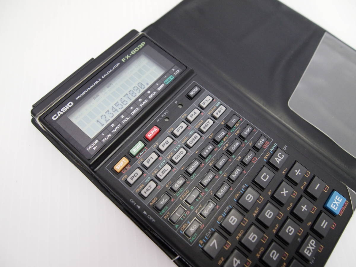 Casio fx603p program