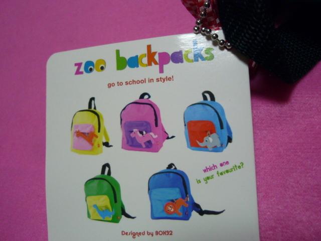 入園準備 J.I.P zoo back pakcs ジェイアイピー リュックサック_画像5