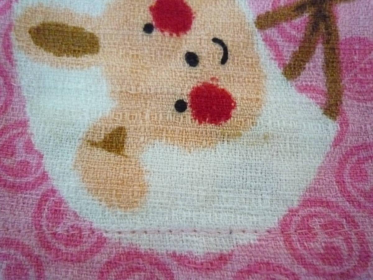 ★CORNEIUE 女の子甚平 くまさん パンダ ワンちゃん いちご ピンク系 サイズ95_画像7