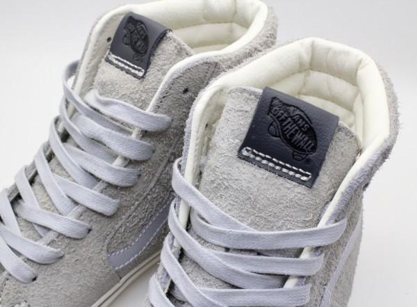 【USA購入 正規新品】VANSバンズ 27.0cm スケートハイ SK8-HI ヘアリースエード革レザーグレー ビンテージ 靴シューズ☆9a44_画像4
