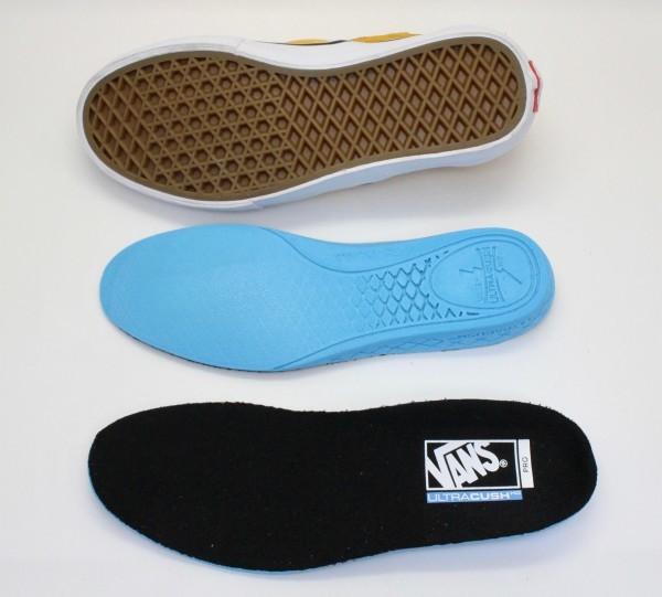 【USA購入 正規新品】VANSバンズ 27.0cm スリッポン プロ SLIP-ON PRO ヘアリーバナナイエロー チェッカー ビンテージ 靴シューズ☆9a28_画像6