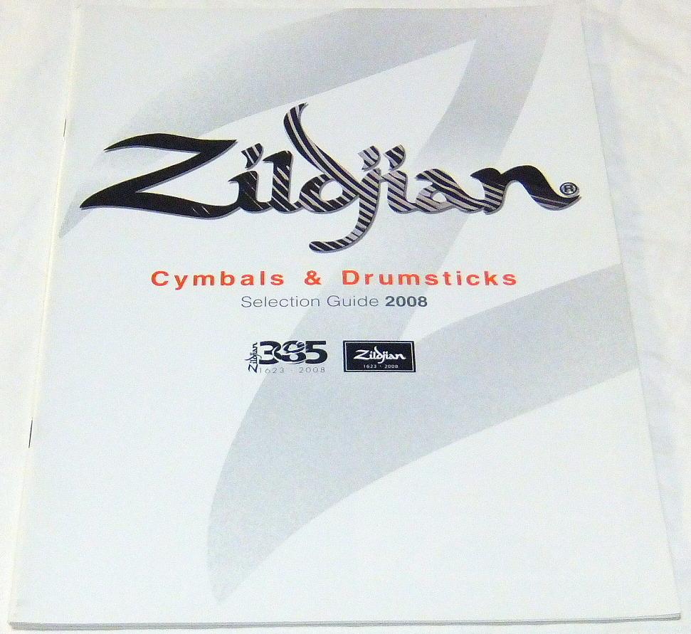 ジルジャンZildjianシンバルカタログ2008年(Zildjian385年)_画像1