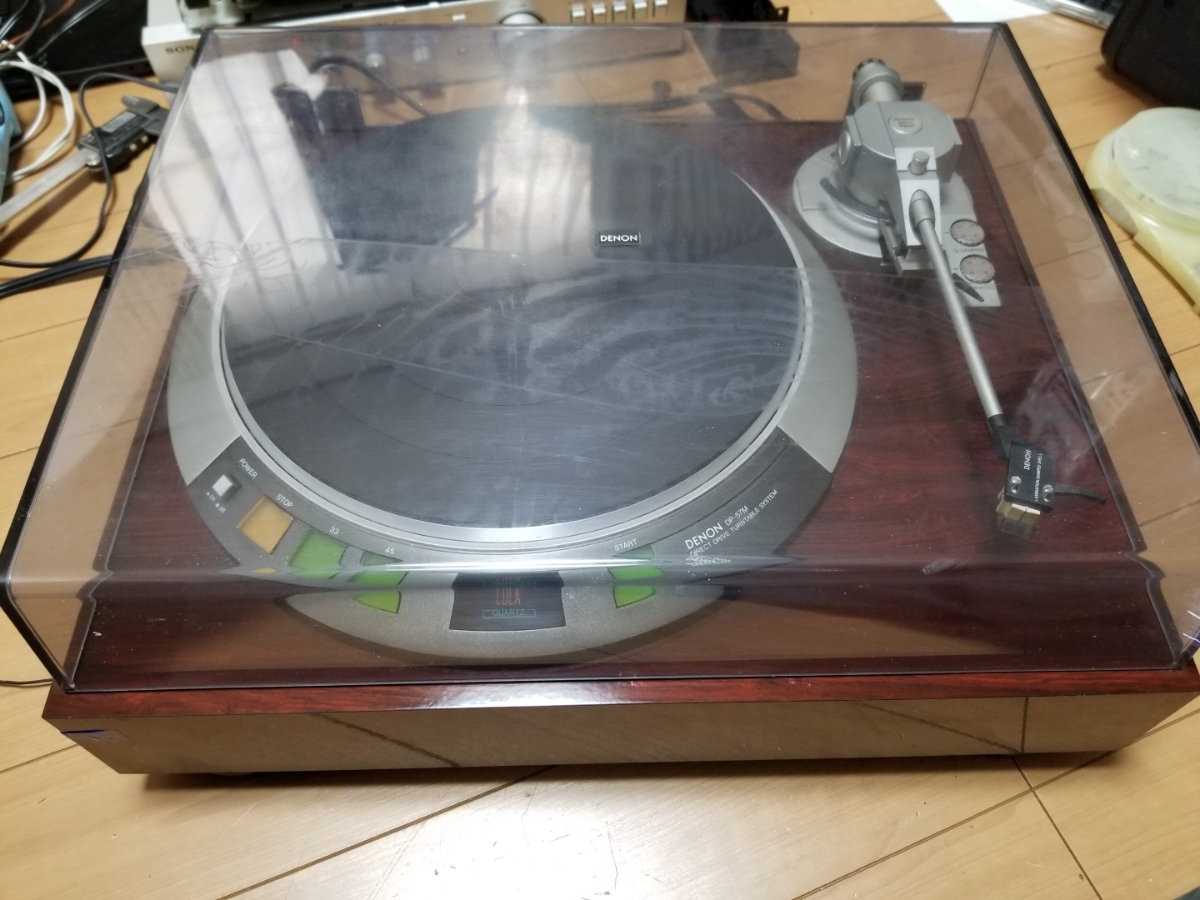 DENON DP-57M turntable DL-301 attaching Junk