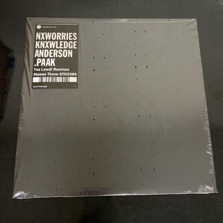 中古 NxWorries Yes Lawd! Remixes LP Anderson .Paak Knxwledge JAZZ HIPHOP SOUL FUNK アンダーソンパーク_画像1