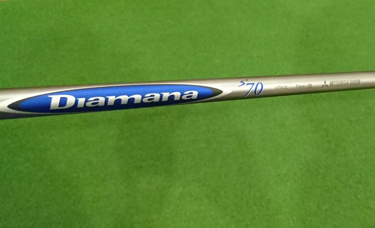 【新品・未使用】2015 Diamana S+ Plus 70【S】US(ディアマナ ブルーボード)ウッド用シャフト(ドライバー・FW用)8.5㎜チップ 全長46インチ
