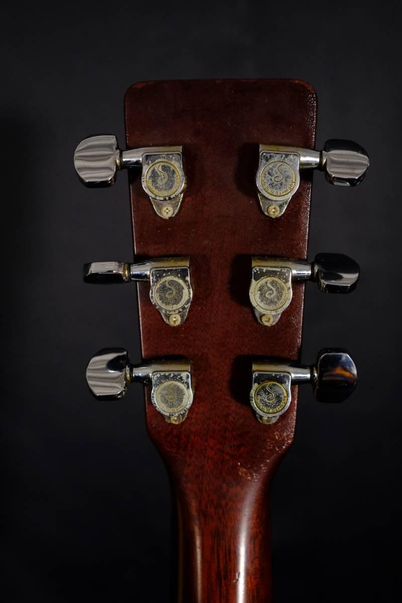希少 ビンテージ 1969年製 マーチン  Martin D-18  幻のハカランダ指板 マホガニーボディ_画像9
