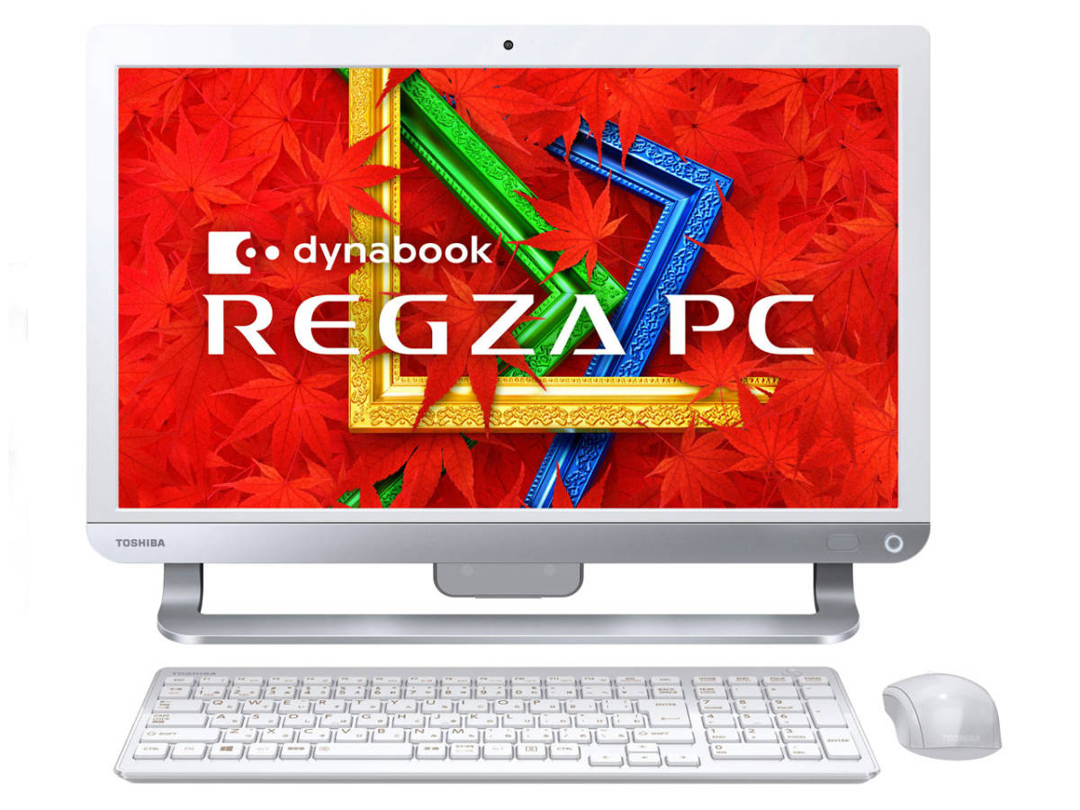 REGZA PC D713/T3KW PD713T3KSXW Celeron Dual-Core 1005M(Ivy Bridge)/4G/2T/Sマルチ/FullHD/地デジ/Win10+Win8.1/office/中古良品※2641_画像1