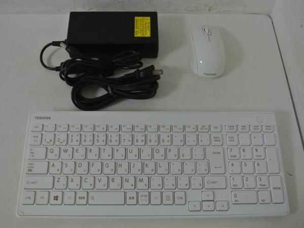 REGZA PC D713/T3KW PD713T3KSXW Celeron Dual-Core 1005M(Ivy Bridge)/4G/2T/Sマルチ/FullHD/地デジ/Win10+Win8.1/office/中古良品※2641_画像4