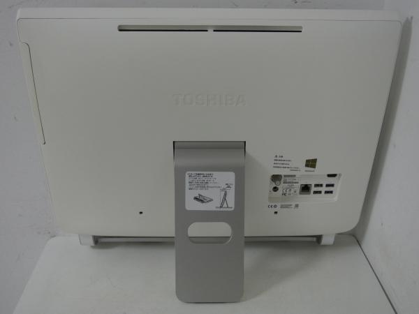 REGZA PC D713/T3KW PD713T3KSXW Celeron Dual-Core 1005M(Ivy Bridge)/4G/2T/Sマルチ/FullHD/地デジ/Win10+Win8.1/office/中古良品※2641_画像3