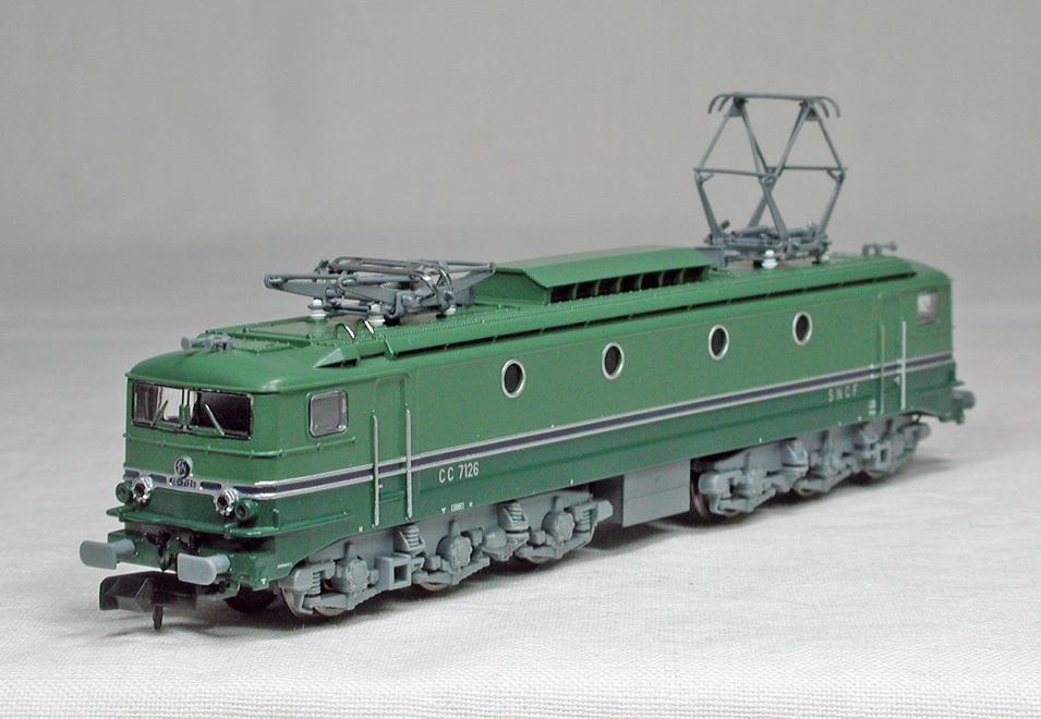 STARTRAIN #60130 SNCF(フランス国鉄) CC7100 電気機関車 26号機(更新改造後) _画像2