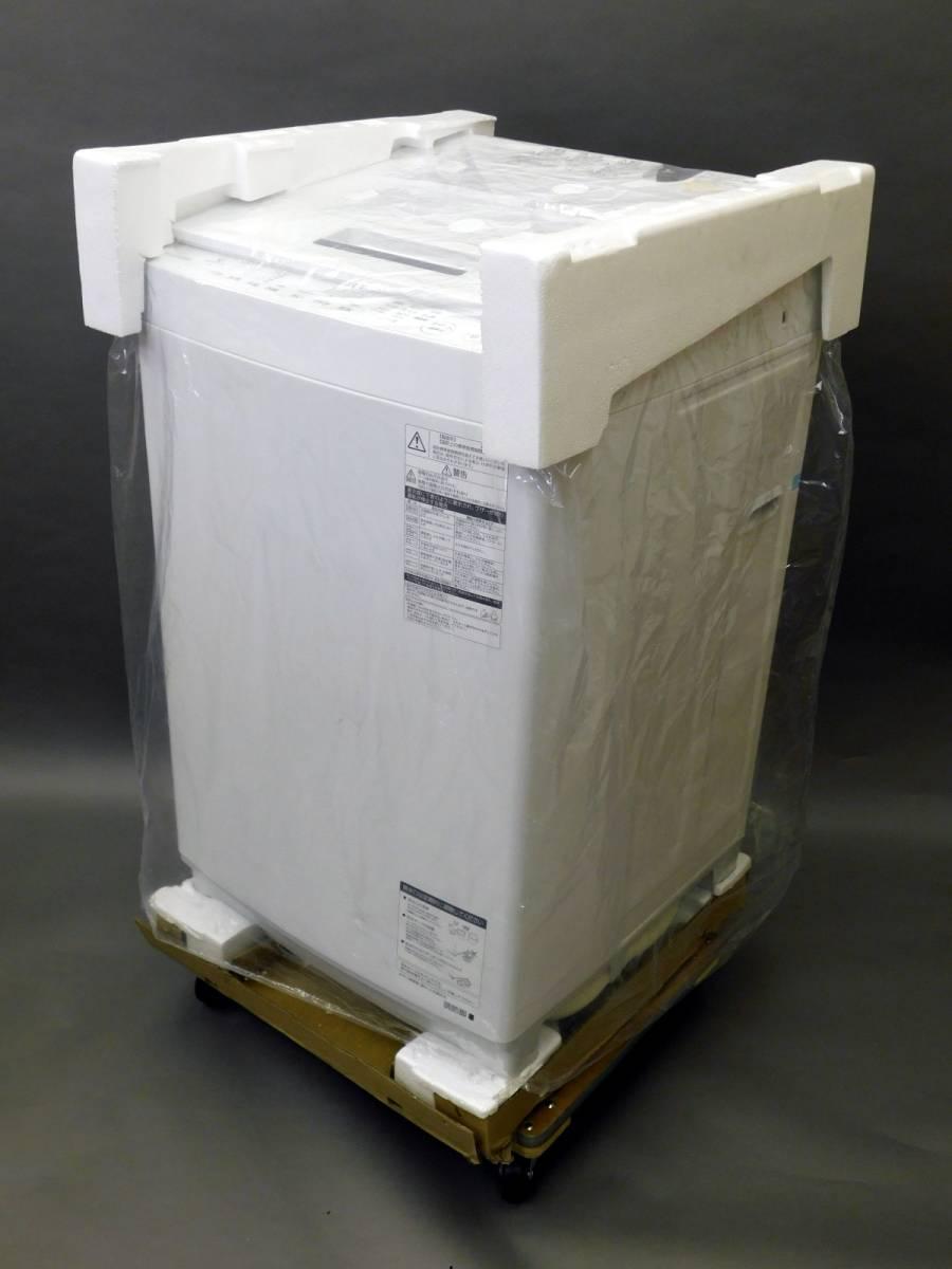 【展示・デモ使用品】 1円スタート!! 2018年製 東芝 全自動電気洗濯機 ザブーン 8kg AW-8D7-(W) ホワイト ステンレス槽 乾燥 手渡し可能_画像10