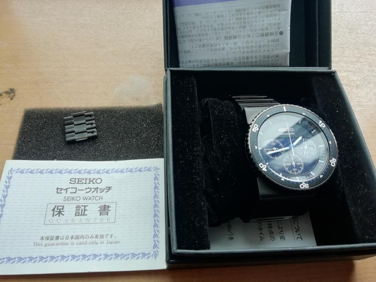 ホワイトマウンテニアリング セイコー 腕時計 美品_画像2