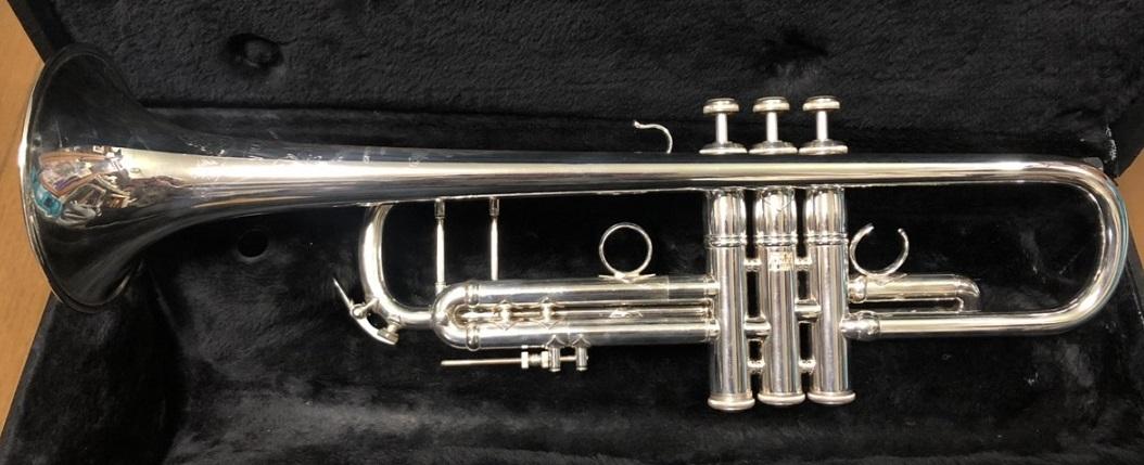 トランペット V.Bach Artisan シルバー