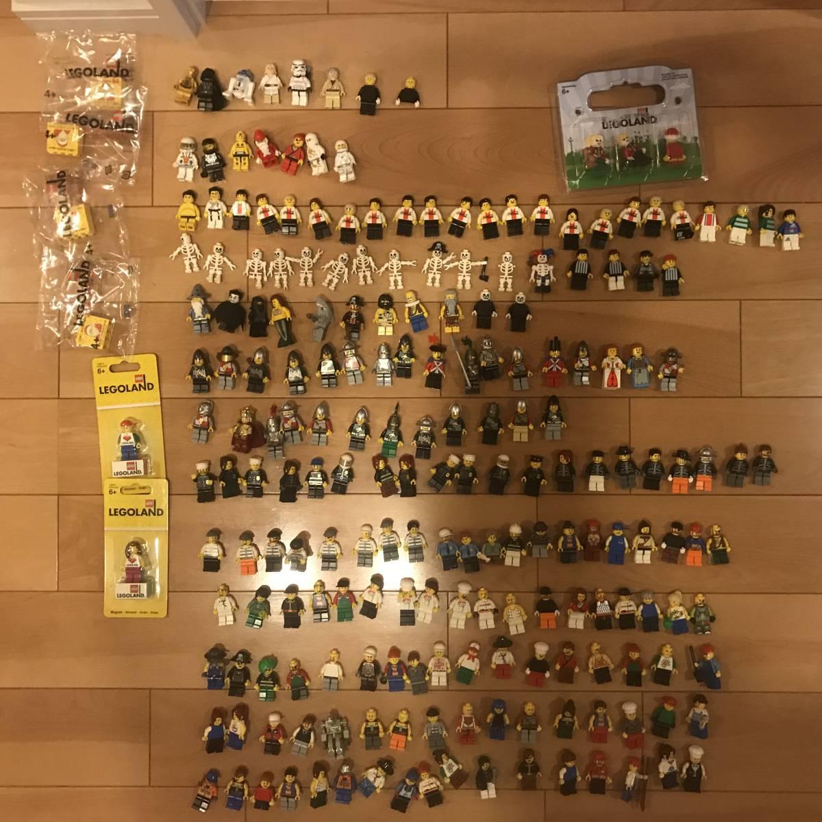 レゴ フィグ いろいろ 200体ぐらい