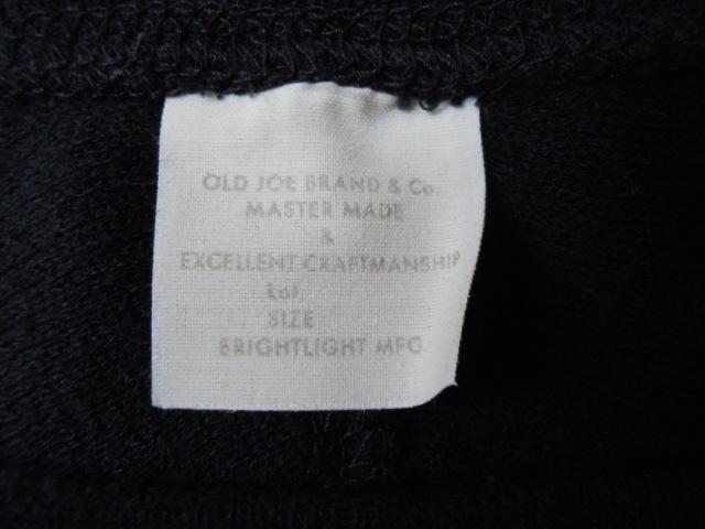 希少 OLD JOE モックネック サーマルシャツ 美品/オールドジョー,ワッフルニット,長袖カットソー,ロンT,ビンテージ,アンダーウェア,38薄手m_画像8