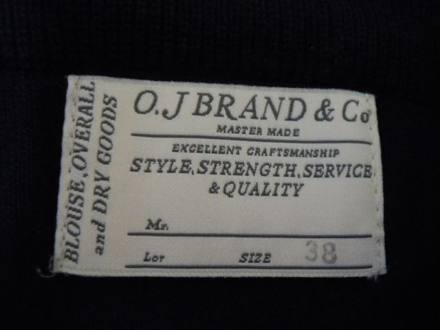 希少 OLD JOE モックネック サーマルシャツ 美品/オールドジョー,ワッフルニット,長袖カットソー,ロンT,ビンテージ,アンダーウェア,38薄手m_画像5