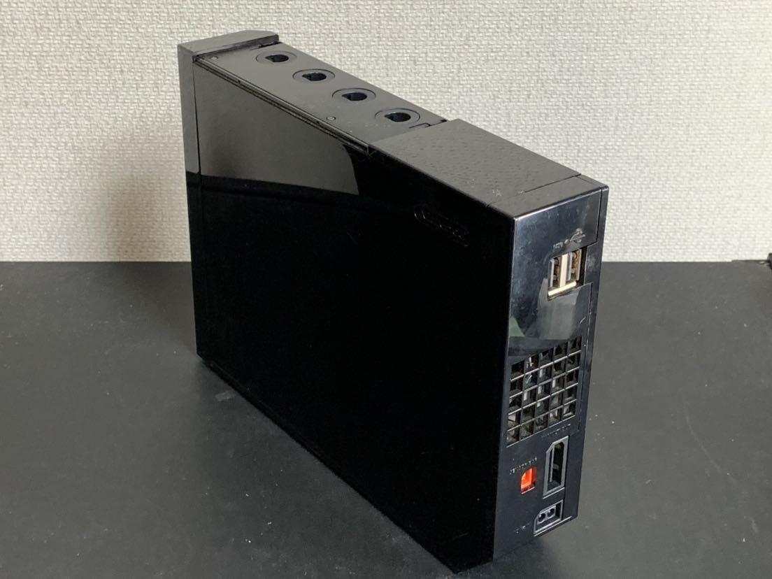 任天堂 Wii 黒(クロ) 本体 蓋なし ソフト1本内蔵 カラオケJOYSOUND Wii(Wiiウェア版) _画像5