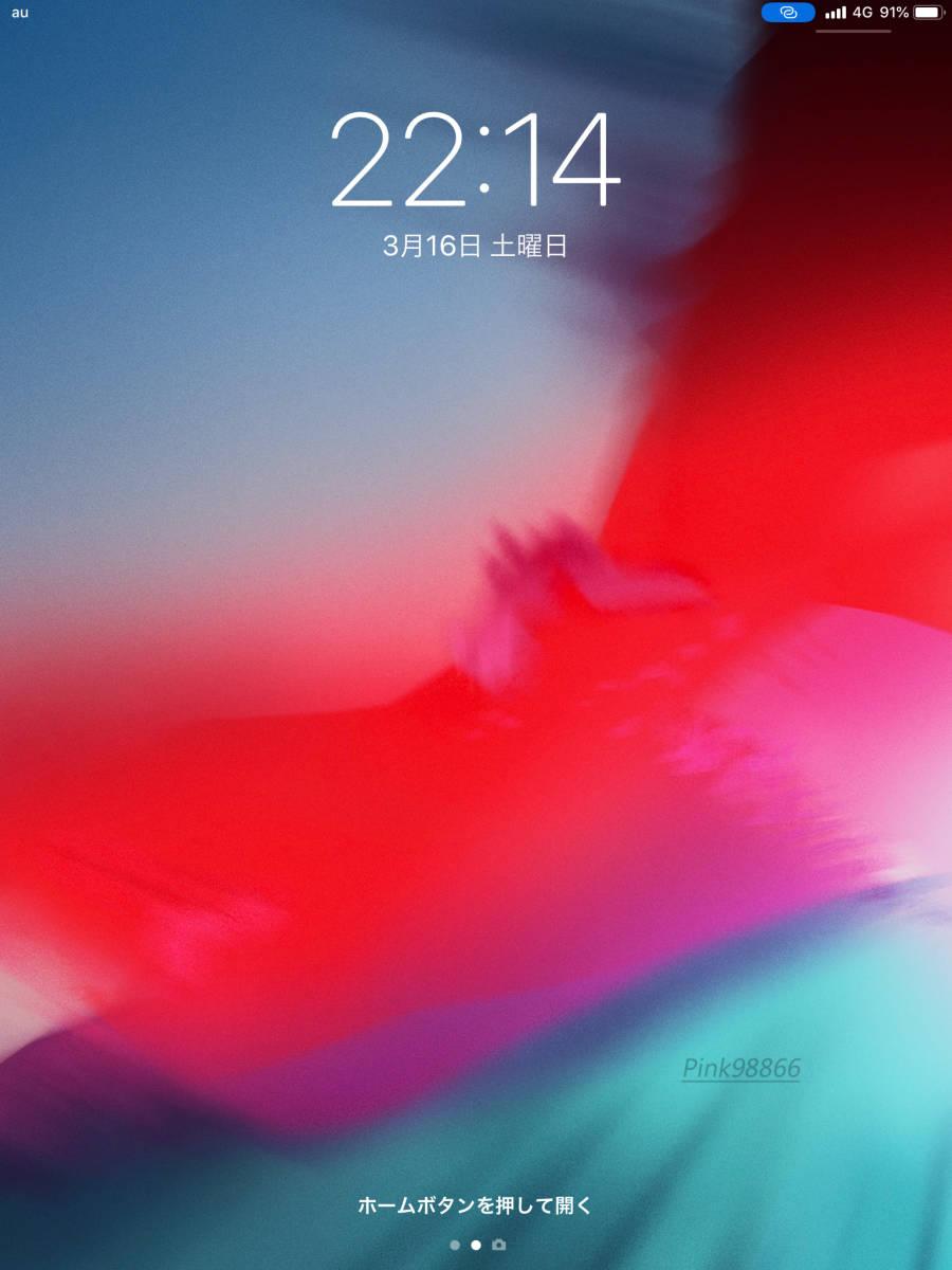 ☆新品☆Apple iPad 9.7インチ Wi-Fi + Cellular 2018(第6世代) 32GB シルバー AU版SIMフリー化設定済/本体32G/格安MVNO SIM使用可能_画像8