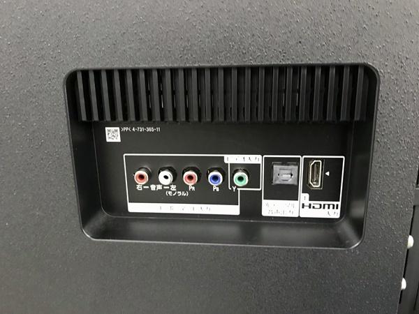 美品 ソニー SONY ブラビア 4K対応 49V型液晶テレビ KJ-49X8500F 2018年製 _画像4