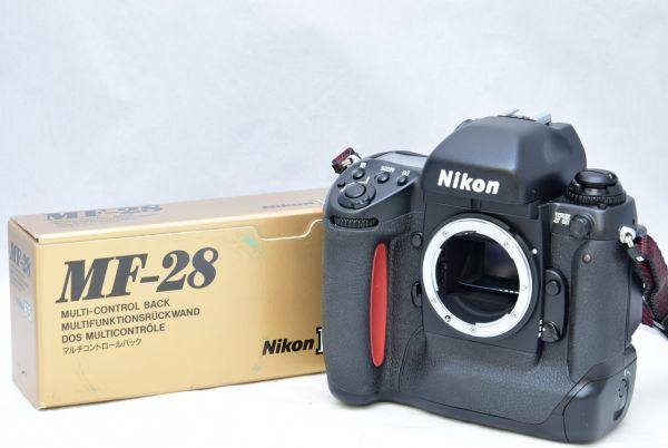 ☆☆Nikon ニコン F5 ボディ + MF-28