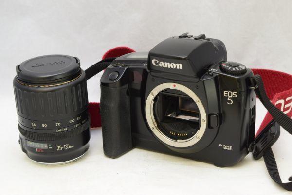☆Canon キャノン EOS5 ボディ + EF 35-135mm 1:4-5.6
