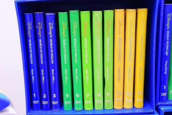 ☆☆DWE ディズニー英語 CD・DVD セット メインプログラム、トークアロング、シングアロング  ジャンク_画像2