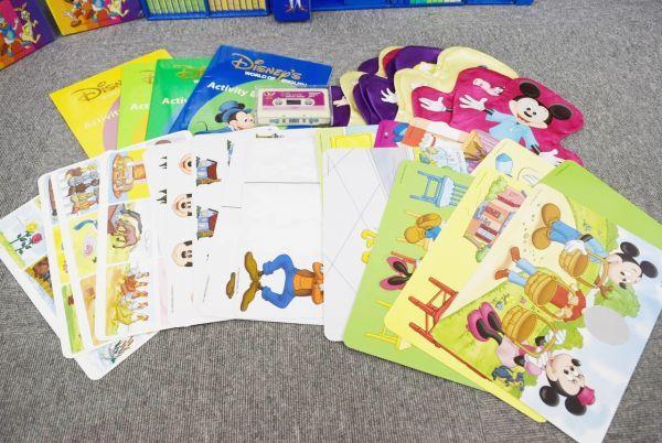 ☆☆DWE ディズニー英語 CD・DVD セット メインプログラム、トークアロング、シングアロング  ジャンク_画像8