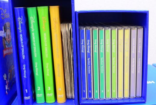 ☆☆DWE ディズニー英語 CD・DVD セット メインプログラム、トークアロング、シングアロング  ジャンク_画像3