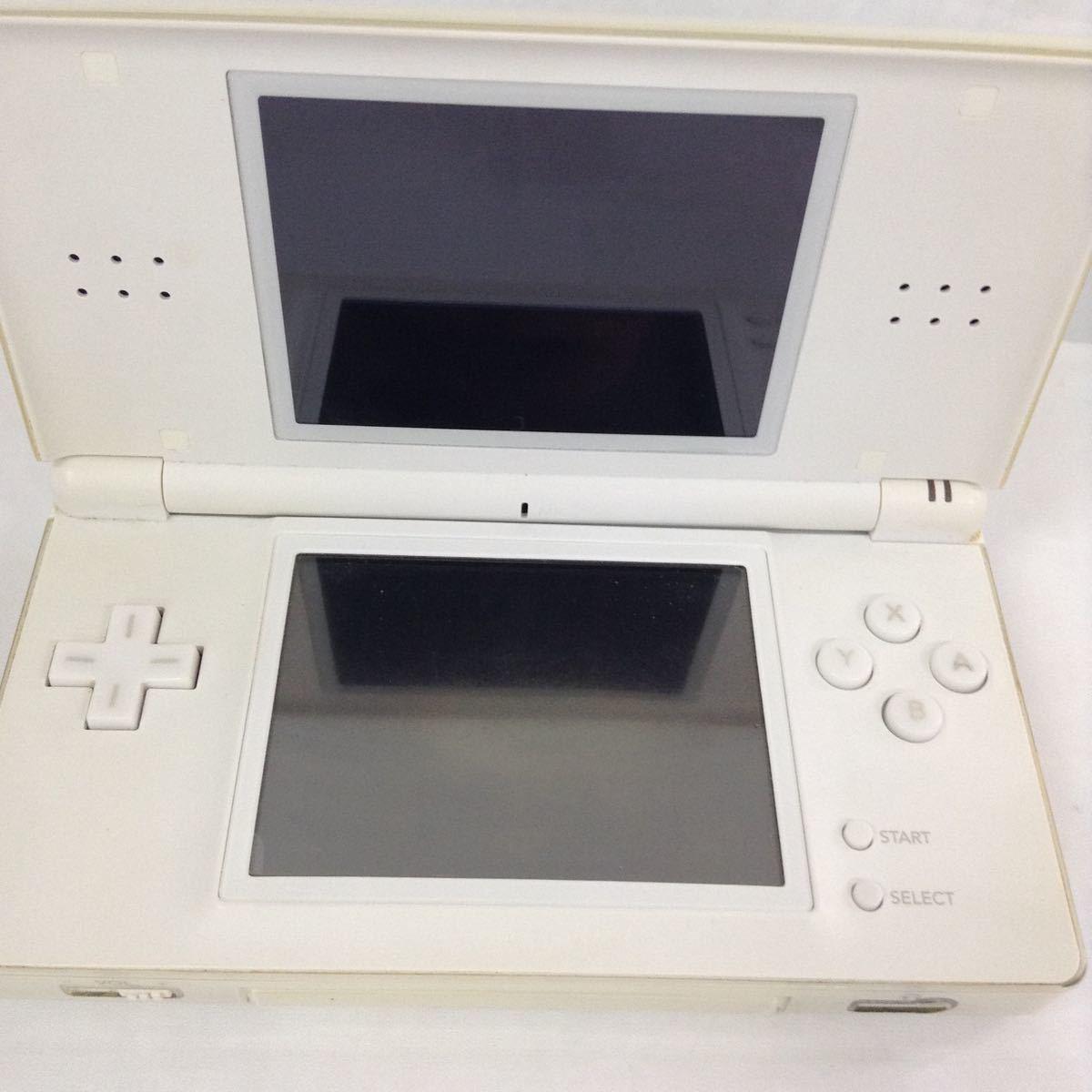 【箱なし中古】ニンテンドー DS lite 本体・ケース・ソフトx2 セット 動作確認済み【ジャンク】_画像2