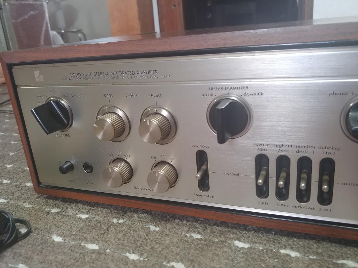 prompt decision last price cut LUXMAN L-309 pre-main amplifier