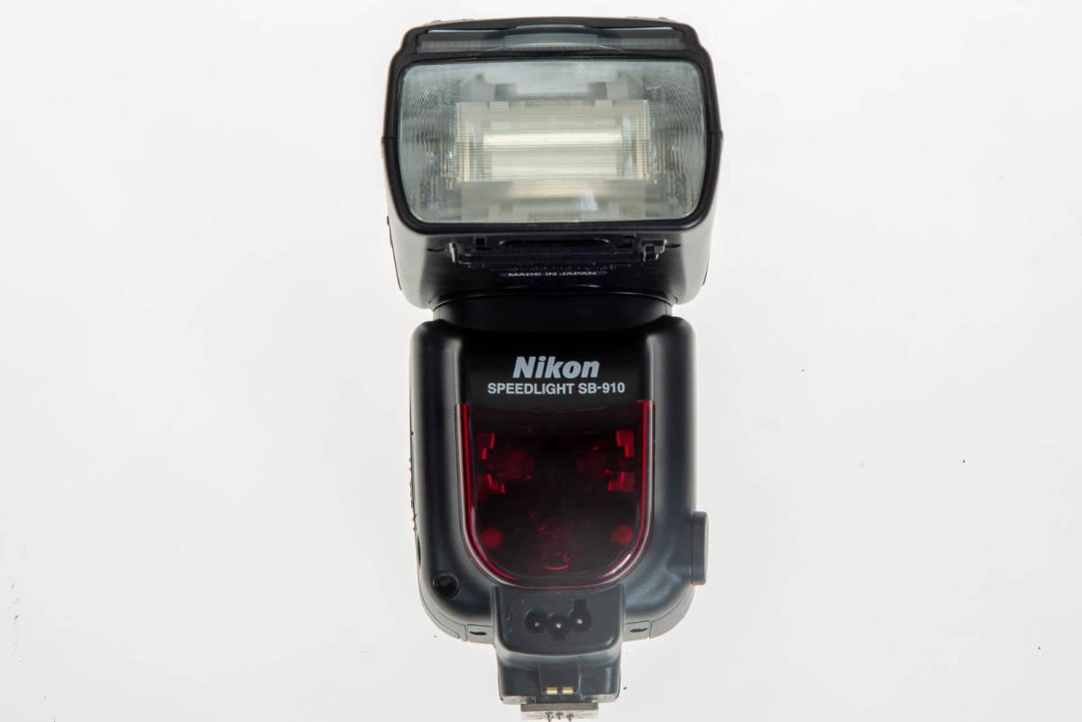 【中古】Nikon SB-910 実用品 本体、ケース、フィルター、デフューザー_画像4