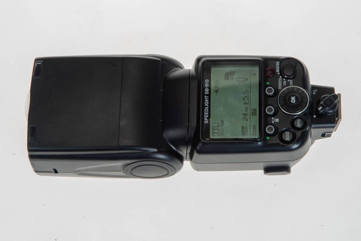 【中古】Nikon SB-910 実用品 本体、ケース、フィルター、デフューザー_画像7