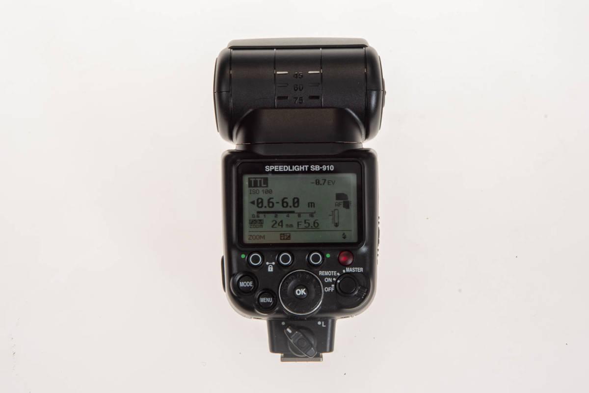 【中古】Nikon SB-910 実用品 本体、ケース、フィルター、デフューザー_画像2