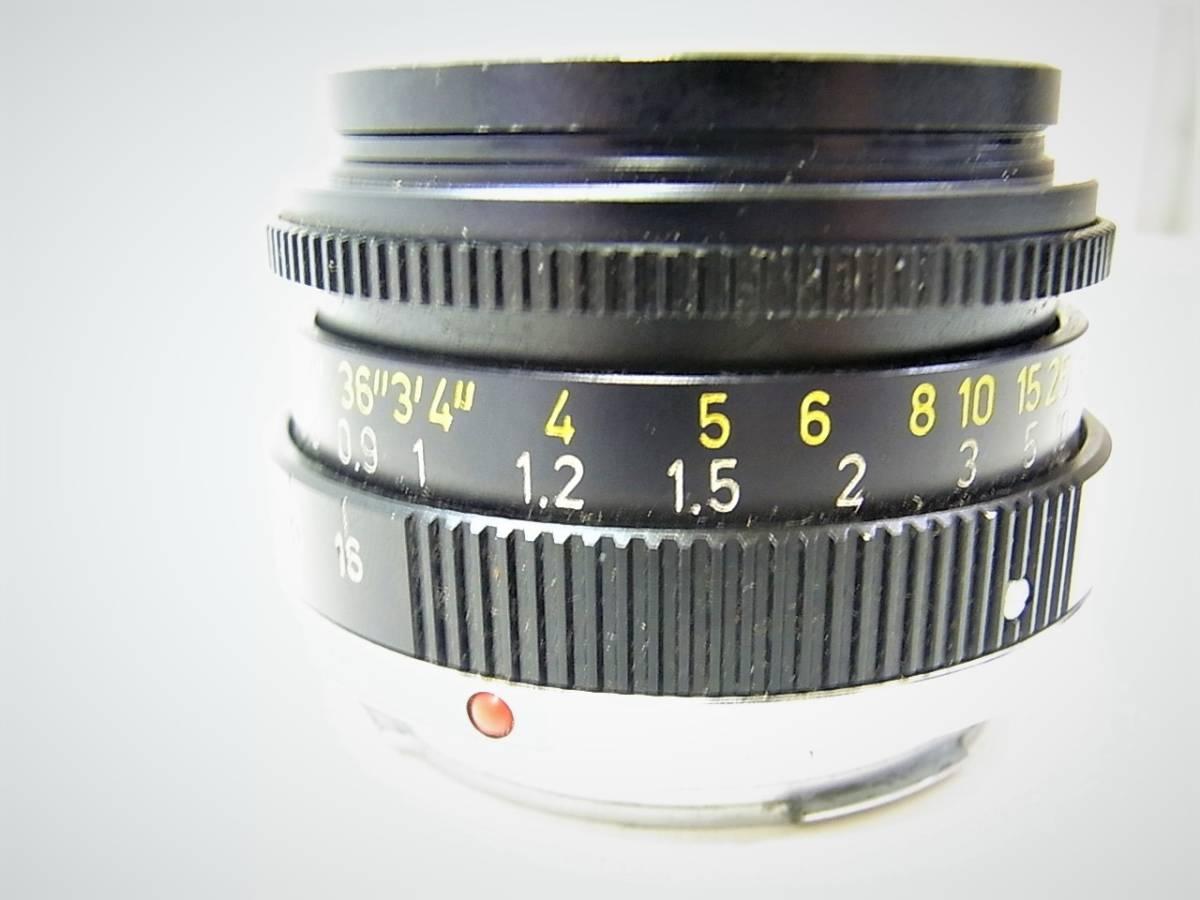 【免税店 東京 質屋おぢさん】 アンティーク カメラ ライカ Leica M4 ズミクロン 35mm CANADA_画像8