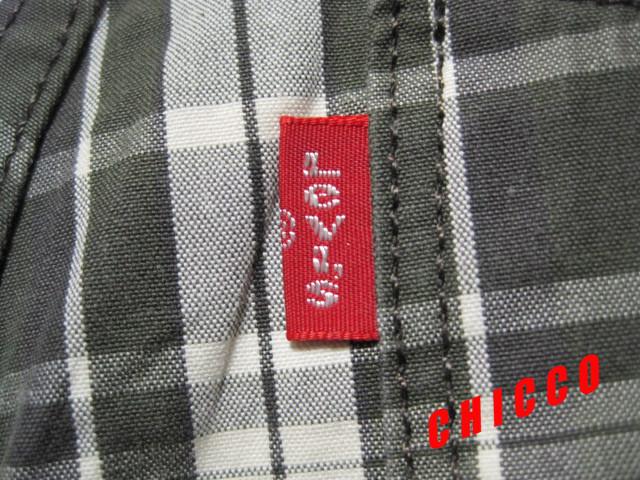 即決★Levi's 511 メンズ W28 グリーン系チェック柄★稀少 リーバイス EU511-0092 ローライズ スリム ストレート コットン パンツ スキニー_画像8