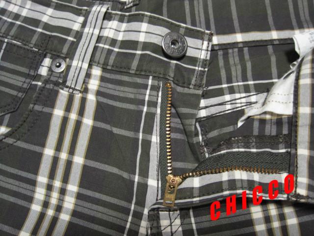即決★Levi's 511 メンズ W28 グリーン系チェック柄★稀少 リーバイス EU511-0092 ローライズ スリム ストレート コットン パンツ スキニー_画像5