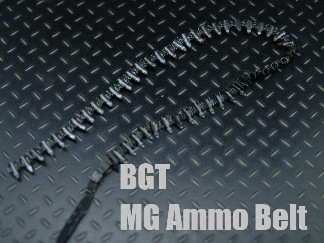 1/6ドールカスタムパーツ:WWII ドイツ軍 金属製機関銃用弾薬ベルト(弾薬は別売りです)【BGT製】_1/6スケールドイツ軍弾薬ベルト(弾薬なし