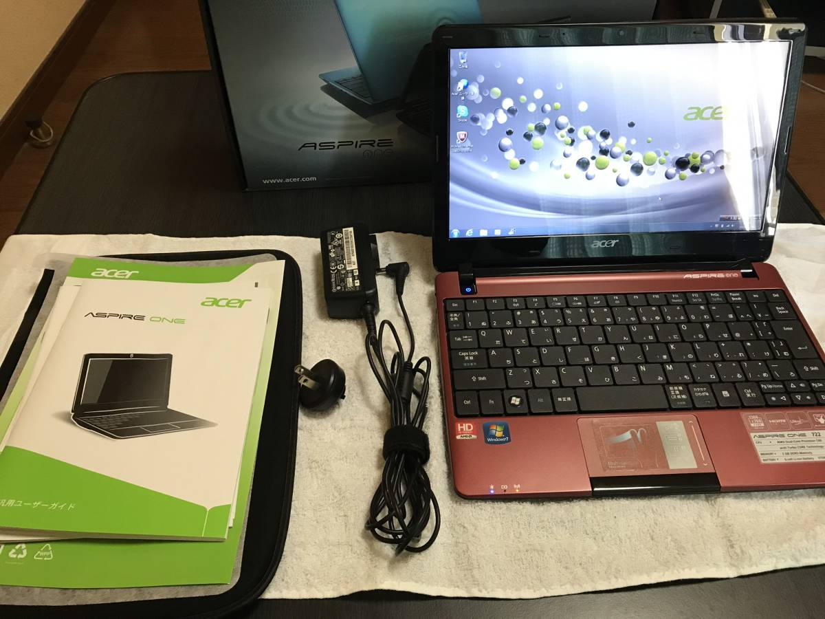 acer Aspire One 722 AMD Dual-Core C60 1.333GHz