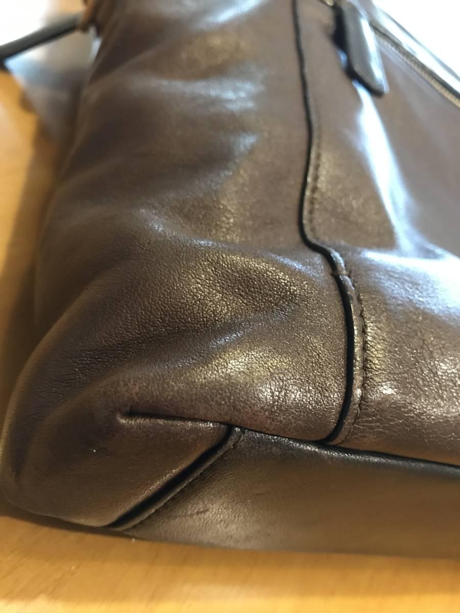 TUMI トゥミ メンズ ビジネスバック  ブランチ・スリム・ラップトップ・ブリーフ 68516B ブラウン  茶色  グレインレザー  本革_画像7
