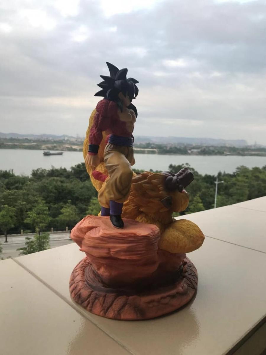 海外限定 ドラゴンボール 悟空 フィギュア 検索:リペイント 改造 一品物 1_画像6