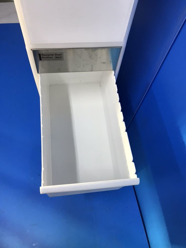 WM0967 ゴミ箱 分別スイングステーション 3段 ホワイト 105*25*45cm 現状品出品 1201903141_画像5