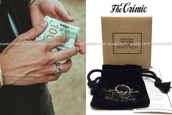 0e4702fcdcc5 代購代標第一品牌- 樂淘letao - CRIMIE クライミー× Argent Gleam コラボMIGHTY RING 喜平チェーンリングM  15号相当シルバー925