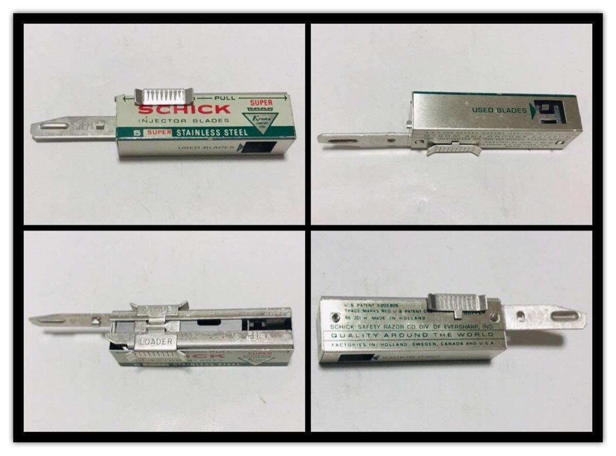 【ビンテージ】シック インジェクター Schick Injector Razor_画像4