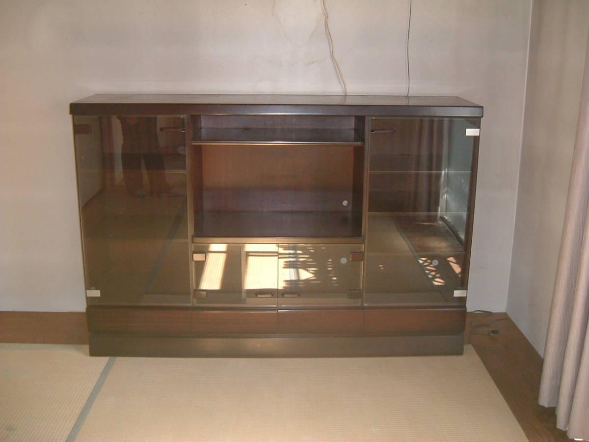 神奈川発 綺麗 木目 AVボード AVラック 179×39×120cm  引き取り大歓迎_画像3