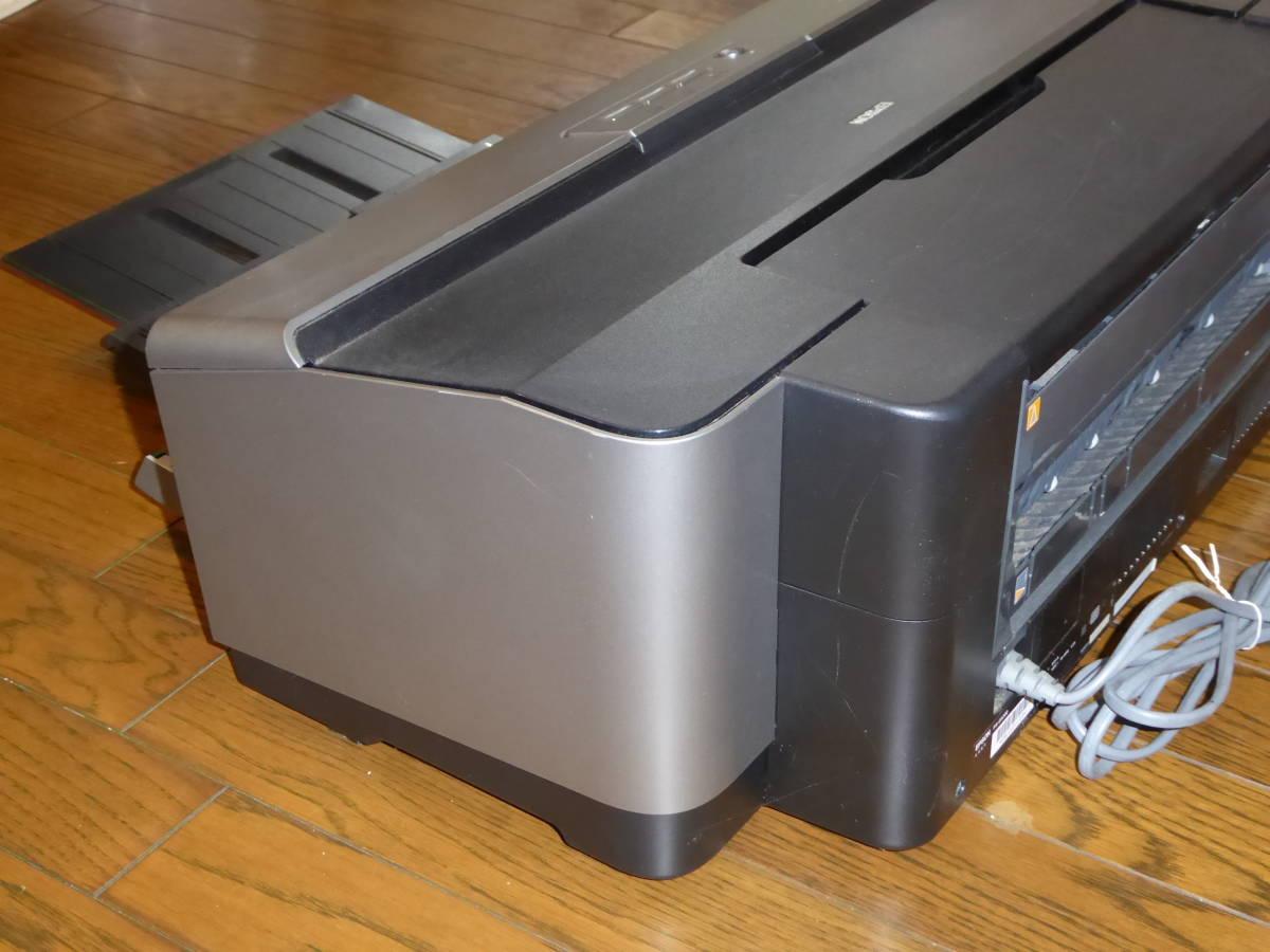 EPSON Colorio インクジェットプリンター PX-G5300 A3ノビ対応 8色高光沢顔料インク 作動品_画像7
