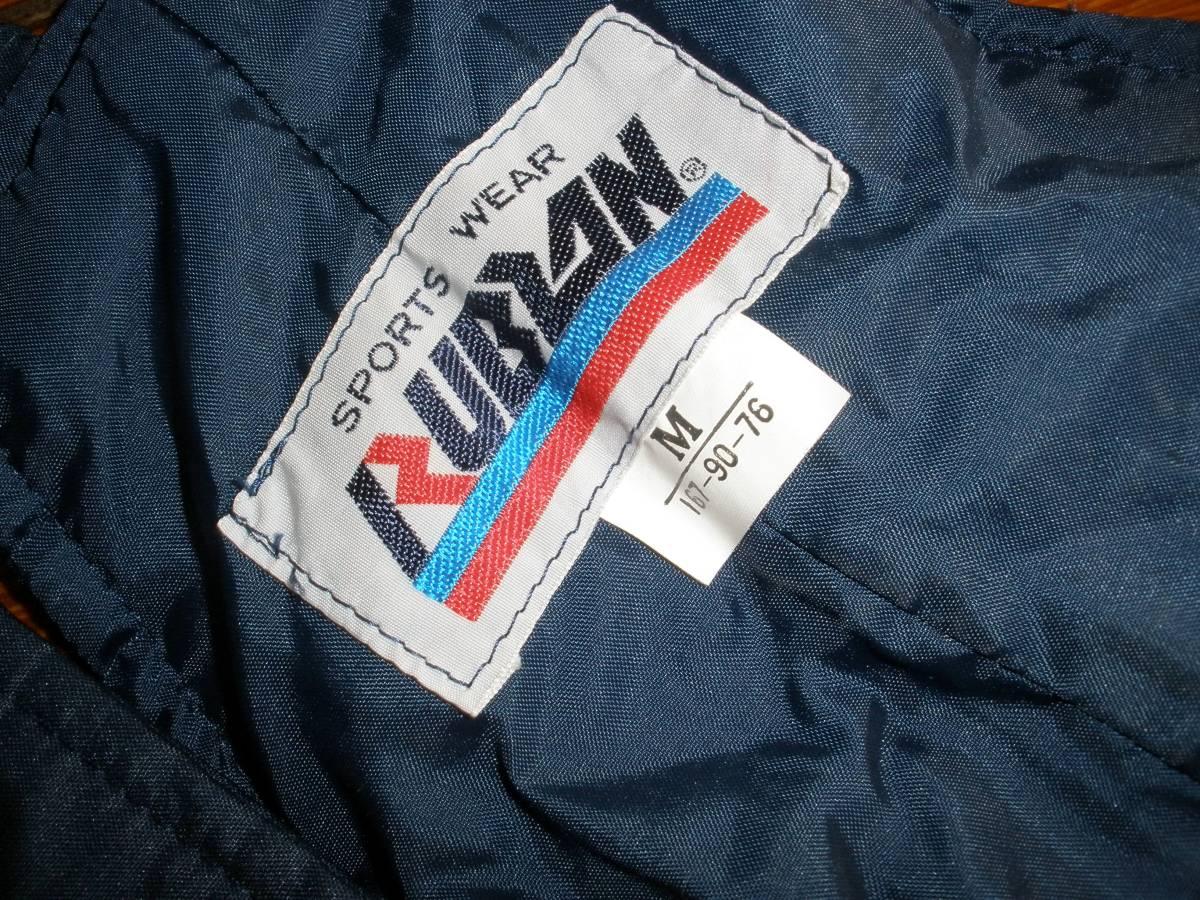 デットストック 未使用 RUBLAN サロペット パンツ 4*829 ビンテージ 昭和レトロ_画像3