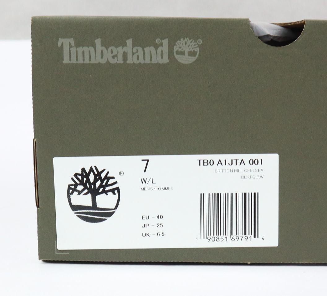 ☆Timberland☆チェルシーブーツ(7W、25.0cm、A1JTA、ブラック)定価23000円+税 ティンバーランド_画像7